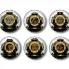 Set of 9 Steampunk Divers 1 Inch Pinback Button Badge Pins - Set 1