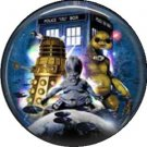 Doctor Who Image 5, Television 1 Inch Pinback Button Badge - 6062