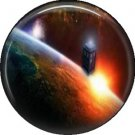 Doctor Who Image 6, Television 1 Inch Pinback Button Badge - 6063