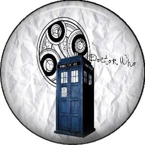 Doctor Who Image 8, Television 1 Inch Pinback Button Badge - 6065