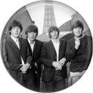 The Beatles in Paris, 1 Inch Button Badge Pin - 0274