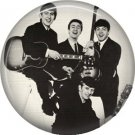 The Beales with their Instruments, 1 Inch Button Badge Pin - 0276