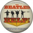 The Beatles Help!, 1 Inch Button Badge Pin - 6081