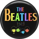 The Beatles in Colors, 1 Inch Button Badge Pin - 6108