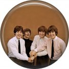 The Beatles on a 1 Inch Pinback Button Badge Pin - 0285