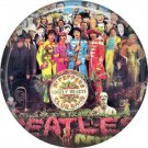 The Beatles on a 1 Inch Pinback Button Badge Pin - 6070