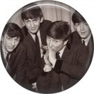 The Beatles on a 1 Inch Pinback Button Badge Pin - 6077