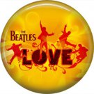 The Beatles on a 1 Inch Pinback Button Badge Pin - 6097