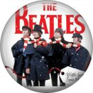 The Beatles on a 1 Inch Pinback Button Badge Pin - 6103