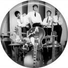 The Beatles on a 1 Inch Pinback Button Badge Pin - 6107