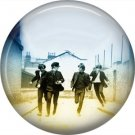 The Beatles on a 1 Inch Pinback Button Badge Pin - 6109