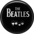 The Beatles on a 1 Inch Pinback Button Badge Pin - 6111