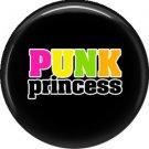 Punk Princess, 1 Inch Button Badge Pin - 0344