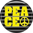 Peace, 1 Inch Punk Princess Button Badge Pin - 0355