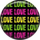 Repeated Love, 1 Inch Pinback Punk Princess Button Badge Pin - 0373