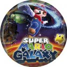 Super Mario Galaxy, Video Games 1 Inch Pinback Button Badge Pin - 0756