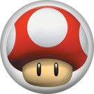 Red Toad, Video Games 1 Inch Pinback Button Badge Pin - 0758