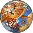 Mario Bros. Characters, Video Games 1 Inch Pinback Button Badge Pin - 0783