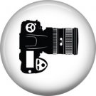 Camera, 1 Inch Photography Hobbies Button Badge Pinback - 1459