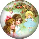 Is that Dolly for Me?, Christmas 1 Inch Pin Back Button Badge - 1003