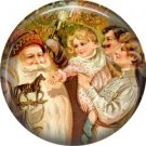 A Pony for a Good Little Girl, Christmas 1 Inch Pin Back Button Badge - 1004