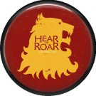 Hear Me Roar House Lannister, Television Favorites 1 Inch Pinback Button Badge - 5004