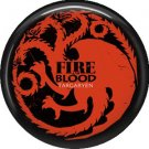 Fire and Blood House Targaryen, Television Favorites 1 Inch Pinback Button Badge - 5006