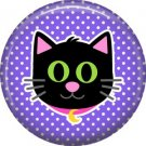 Wickedly Cute Halloween 1 Inch Pinback Button Badge Pin - 6213