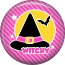 Wickedly Cute Halloween 1 Inch Pinback Button Badge Pin - 6215