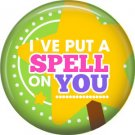 Wickedly Cute Halloween 1 Inch Pinback Button Badge Pin - 6216