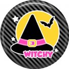 Wickedly Cute Halloween 1 Inch Pinback Button Badge Pin - 6220