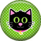 Wickedly Cute Halloween 1 Inch Pinback Button Badge Pin - 6221