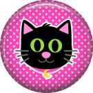 Wickedly Cute Halloween 1 Inch Pinback Button Badge Pin - 6223