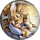 The Tale of Peter Rabbit 1 Inch Pinback Button Badge Pin - 6230