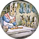 The Tale of Peter Rabbit 1 Inch Pinback Button Badge Pin - 6234