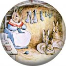 The Tale of Peter Rabbit 1 Inch Pinback Button Badge Pin - 6248