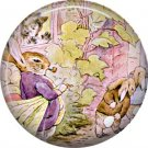 The Tale of Peter Rabbit 1 Inch Pinback Button Badge Pin - 6251