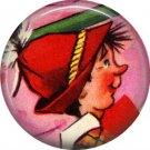 Mid Century Retro Christmas Image on a 1 inch Button Badge Pin - 3106