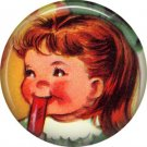 Mid Century Retro Christmas Image on a 1 inch Button Badge Pin - 3109