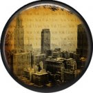 I Love New York Vintage Image on a 1 inch Button Badge Pin - 6310