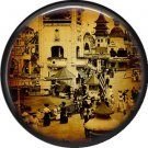 I Love New York Vintage Image on a 1 inch Button Badge Pin - 6312
