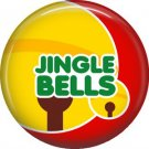 Jingle Bells, 1 Inch Be Merry Pinback Button Badge Pin - 3049