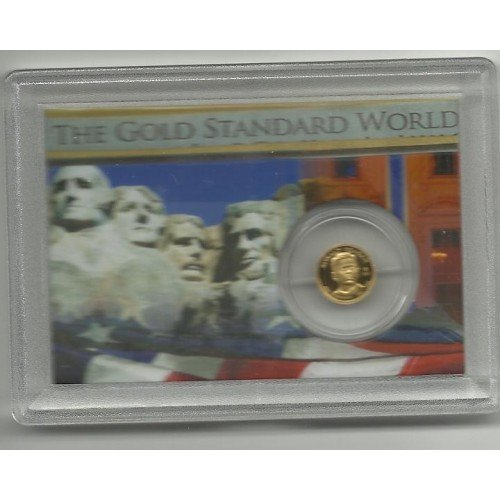 2011 Proof 7.7161 gr. Solid Gold Ronald Reagan Collection