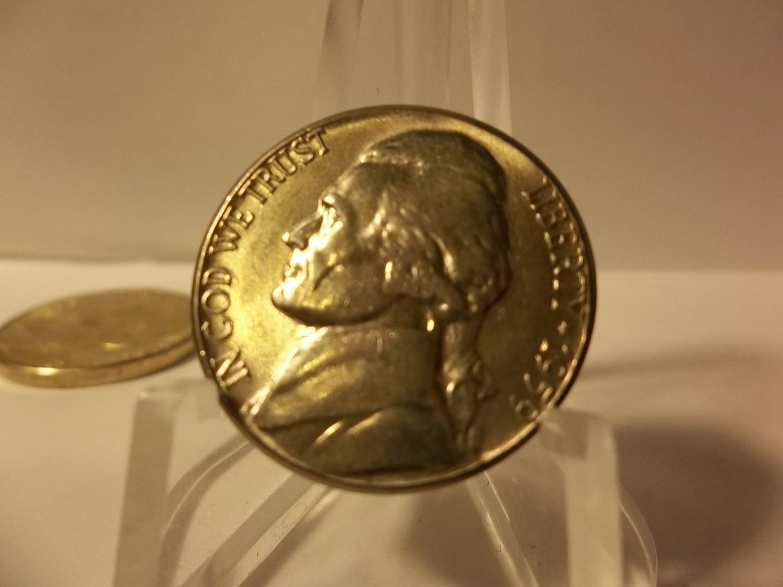 1959-D BU #2 Jefferson Nickel.