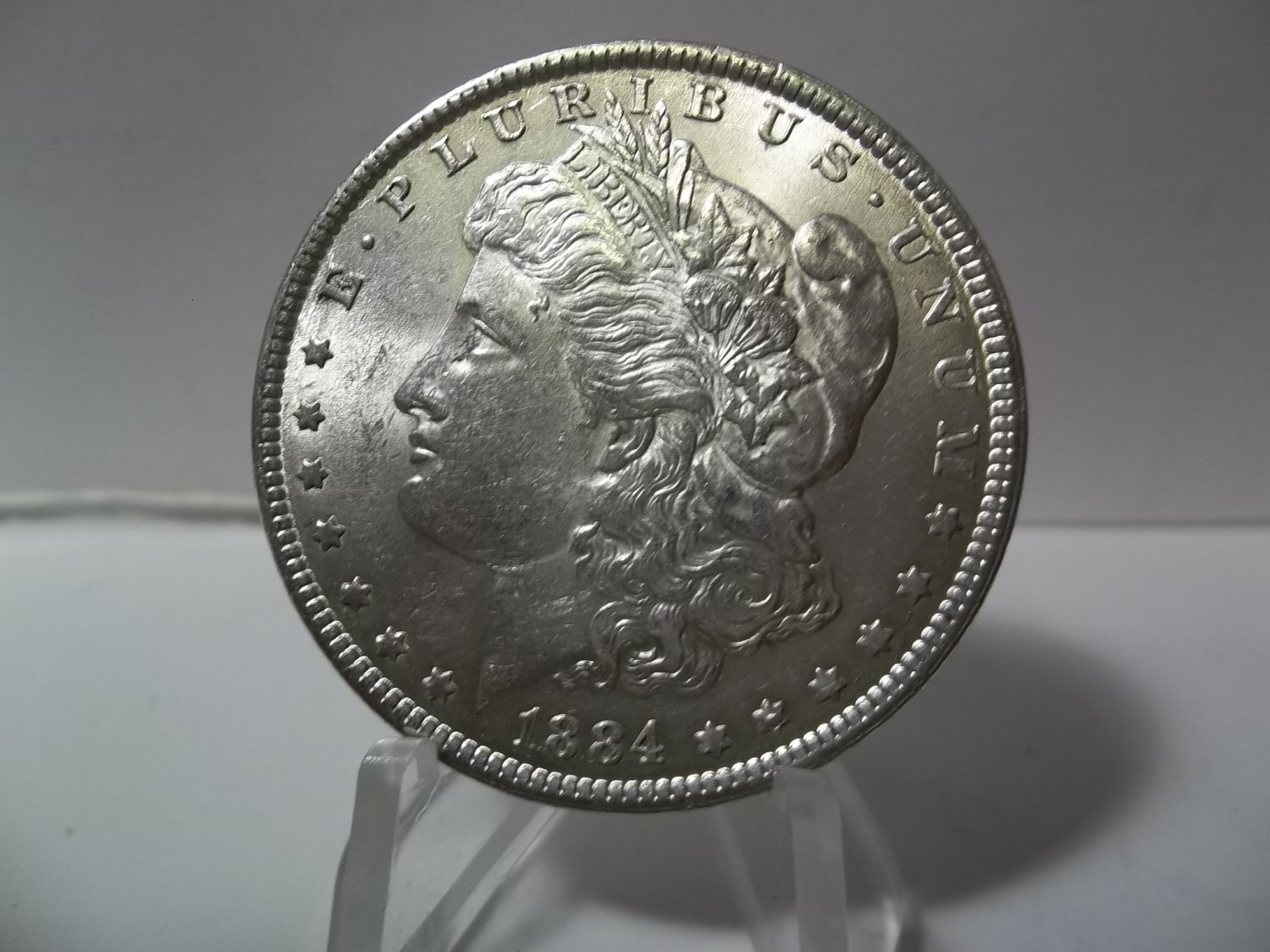 1884 #3 90% Silver Morgan Dollar.