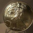 2014 Gem BU American Silver Eagle 1-OZ Silver .999 Fine Silver Legal Tender.