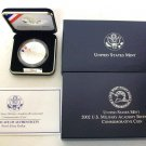 2002 United States Military Academy Commemorative Coin Proof Silver Dollar