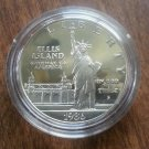 1986-S $1 Proof ELLIS ISLAND 90% SILVER DOLLAR