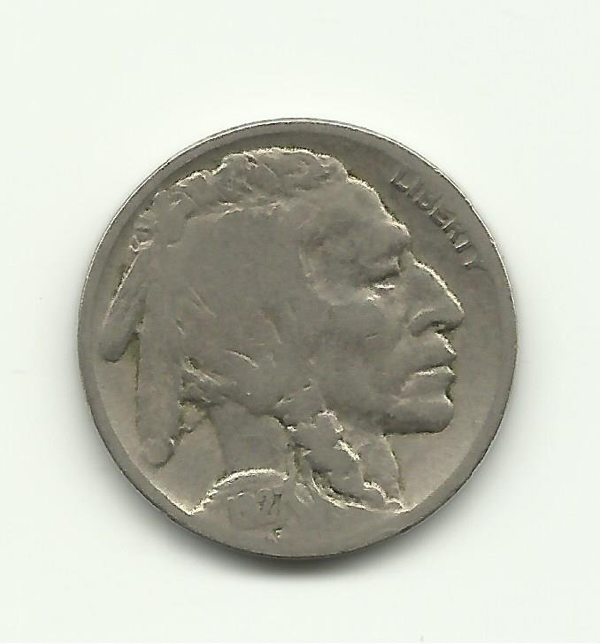 1927 #11 Buffalo Nickel.
