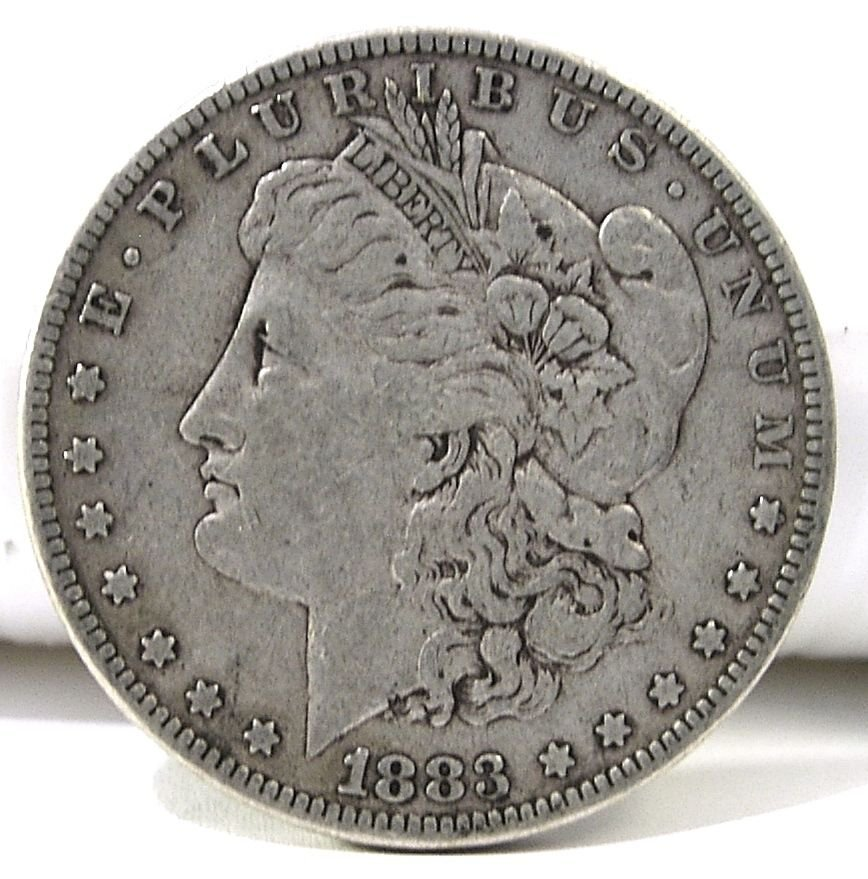 1883 #1 90% Silver Morgan Dollar.